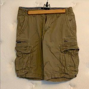 Quik Silver Cargo Shorts Sz 30